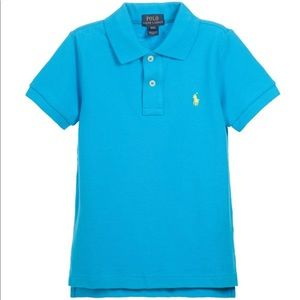 Polo Ralph Lauren turquoise pima soft touch polo